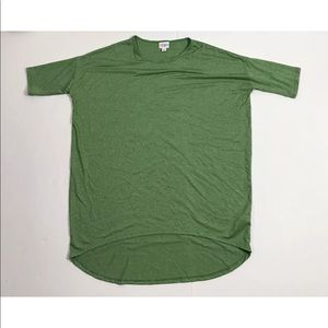 Lularoe Green  Casual T Shirt Men Size Small